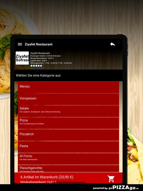 Ziyafet Restaurant Erlensee screenshot 8