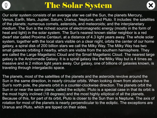 Learn Solar System screenshot 7