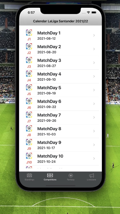 La Liga Football Scores screenshot-7