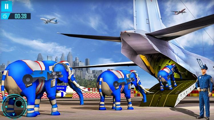 Elephant Robot Car Transform