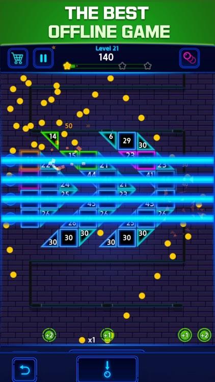 Bricks Breaker Color screenshot-3