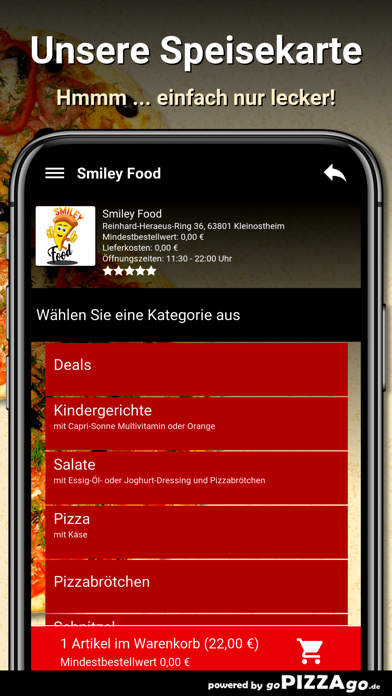 Smiley Food Kleinostheim screenshot 4