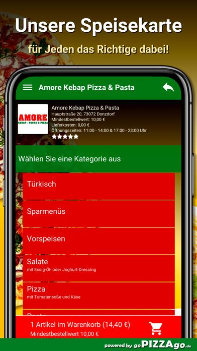 Amore Pizza Donzdorf screenshot 4