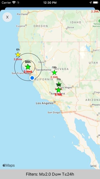Earthquake Network screenshot-5