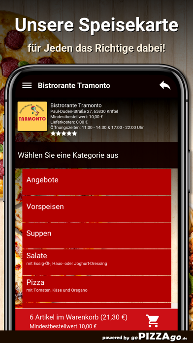 Bistrorante Tramonto Kriftel screenshot 1