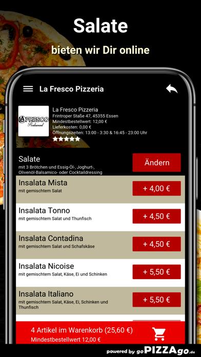 La Fresco Pizzeria Essen screenshot 5