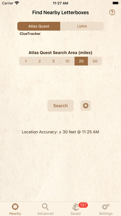 Clue Tracker for Letterboxing