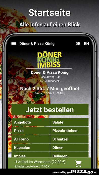 Döner & Pizza König Gladbeck screenshot 2