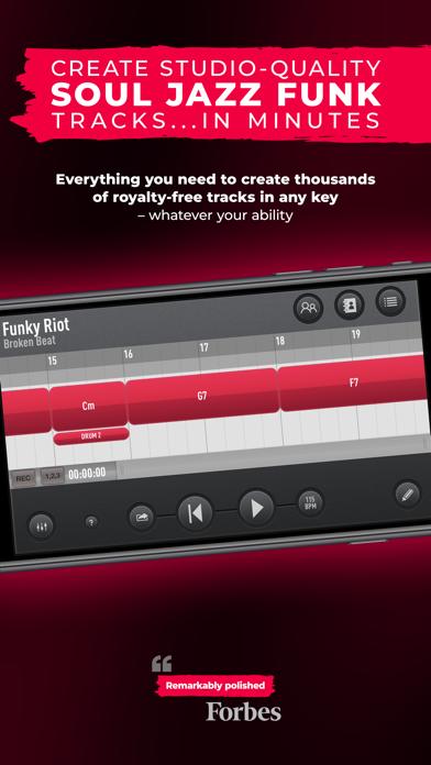 SessionBand Soul Jazz Funk 3 screenshot 1