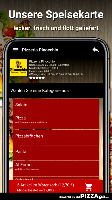 Pizzeria Pinocchio Halberstadt screenshot 4