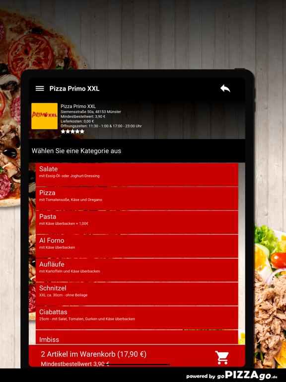 Pizza Primo XXL Münster screenshot 8