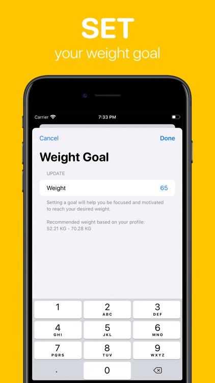 WeightWatch: Weight Tracker screenshot-4