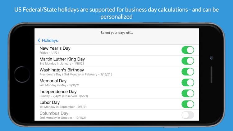 Time Jump - Date Calculator screenshot-4