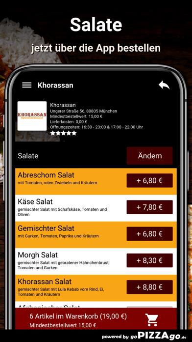 Khorassan München screenshot 5