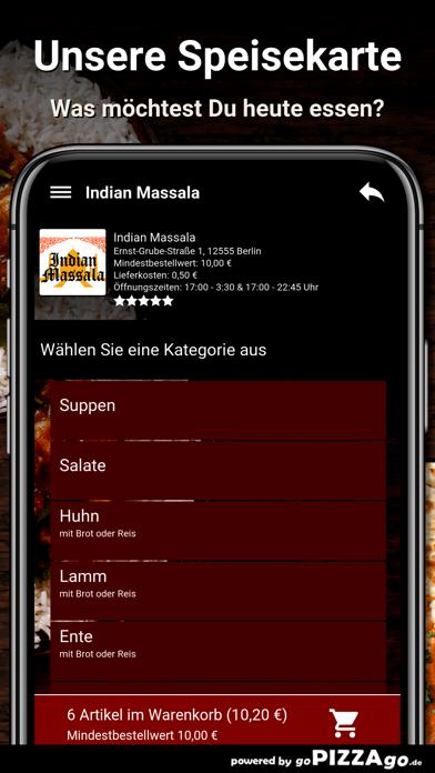 Indian Massala Berlin screenshot 4