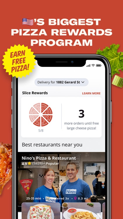 Slice–Pizza Delivery & Pick Up