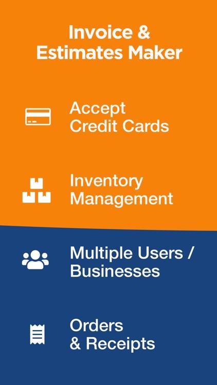 SIR: Invoice & Estimate Maker screenshot-4