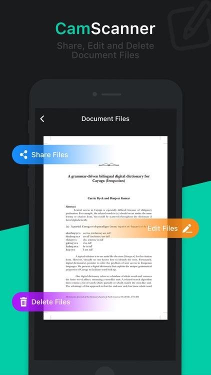 Cam Scanner - Scan to PDF screenshot-4