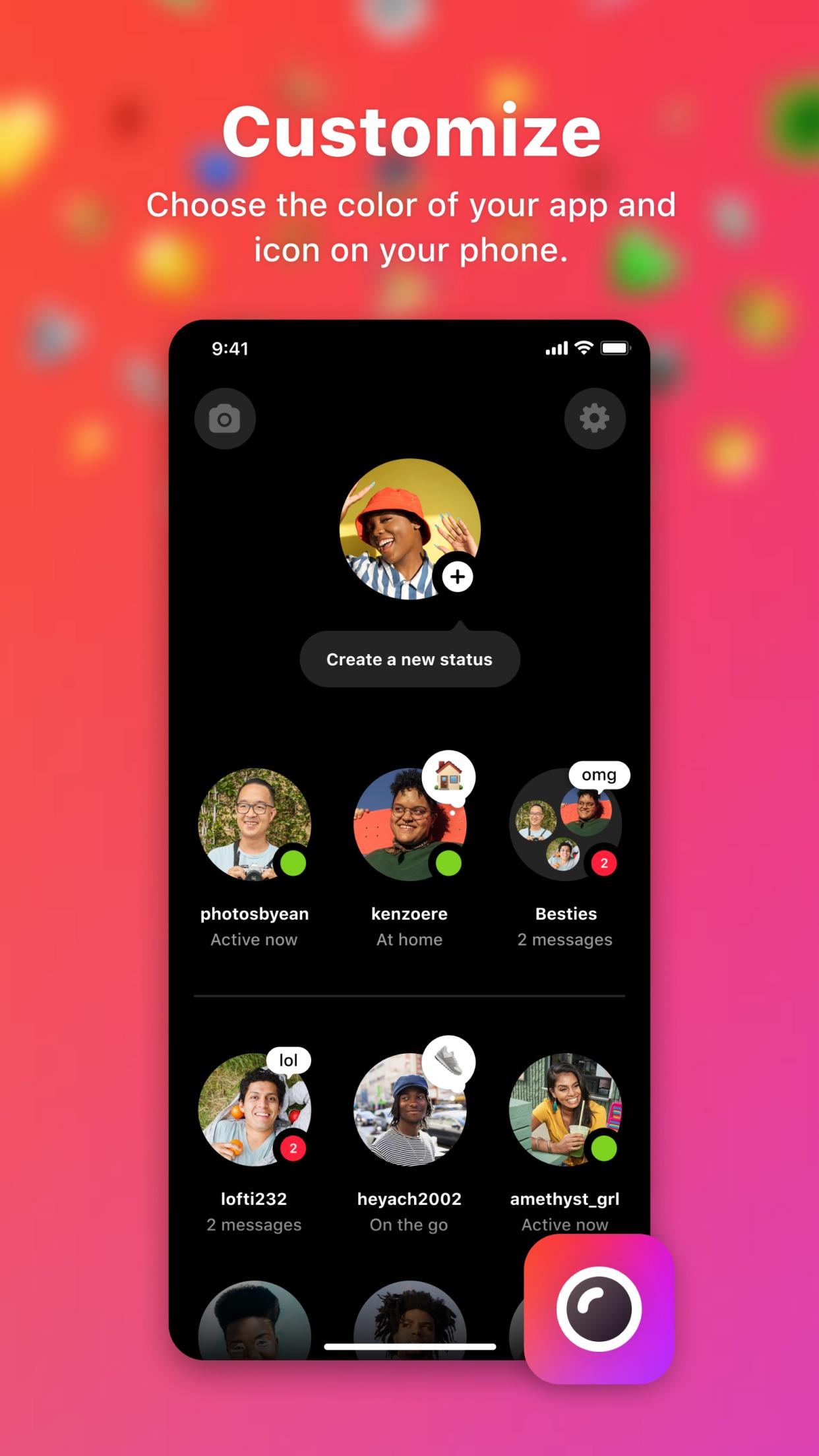 Screenshot do app Threads do Instagram