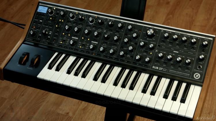 Guide For Moog Sub 37 Synth screenshot-3