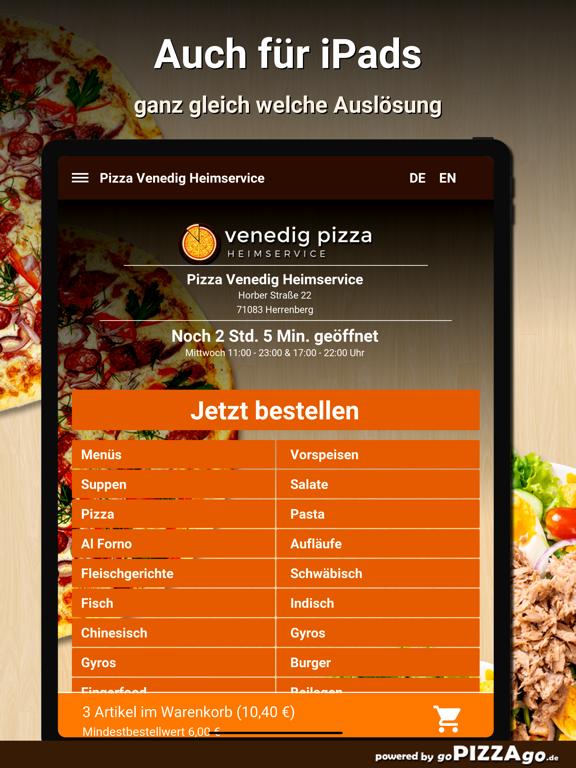 Pizza-Venedig Herrenberg screenshot 7