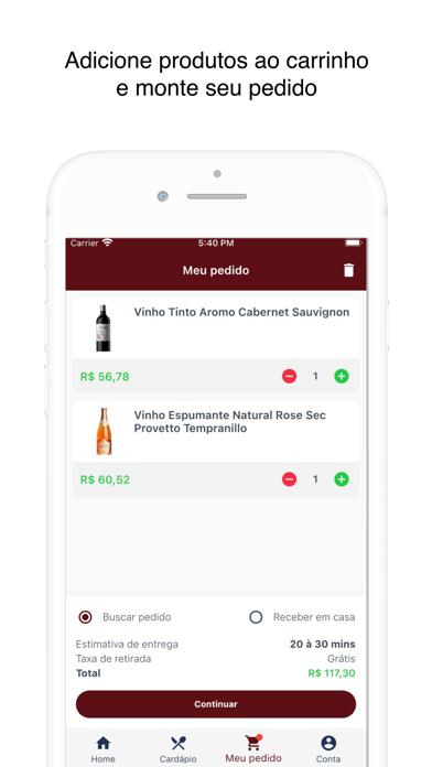 Amo Vinhos screenshot 4