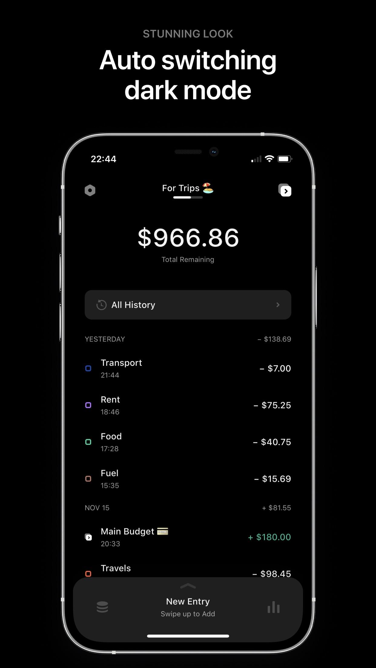 Screenshot do app Coinpath: Expense Tracker