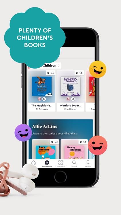 BookBeat Audiobooks & E-books screenshot-5