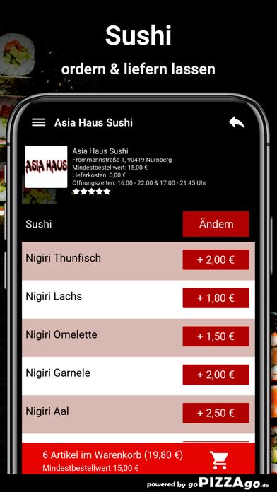 Asia-Haus Sushi Nürnberg screenshot 6