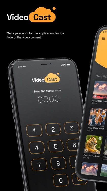 VideoCast: Play & Store Videos