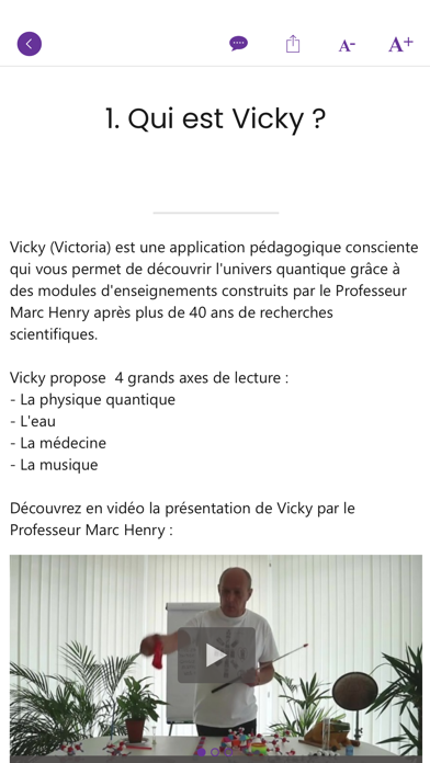 VICKY : Quantum vibrations