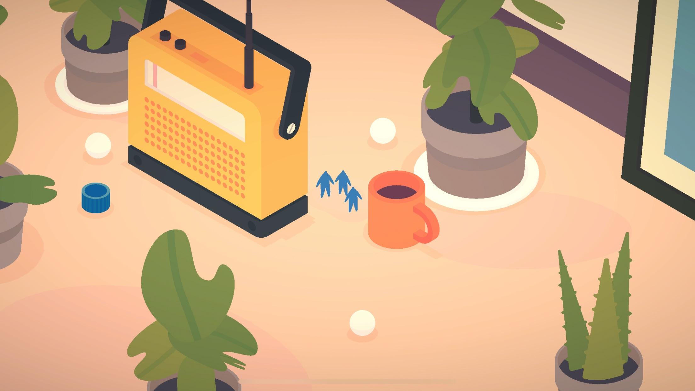 Screenshot do app flocks