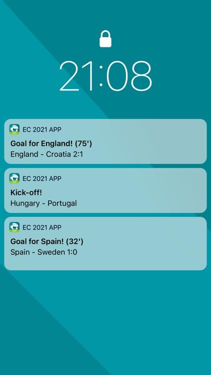 Euro Football App 2020 in 2021