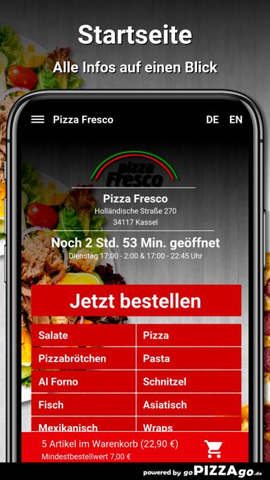 Pizza Fresco Kassel screenshot 2