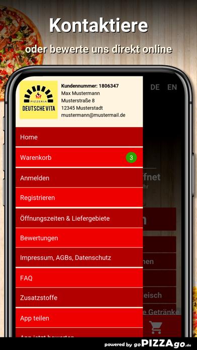 Pizzeria Deutsche Vita Trier screenshot 2