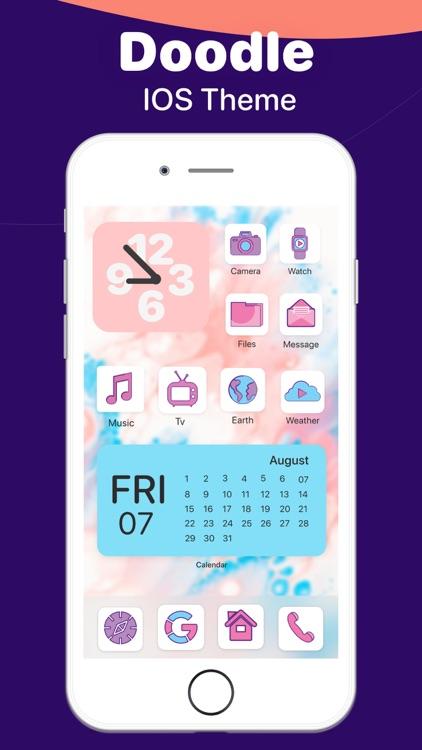 Colorful Widget go home screen screenshot-3