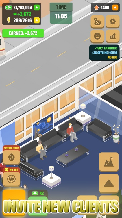Idle Law Firm: Justice Empire screenshot-4