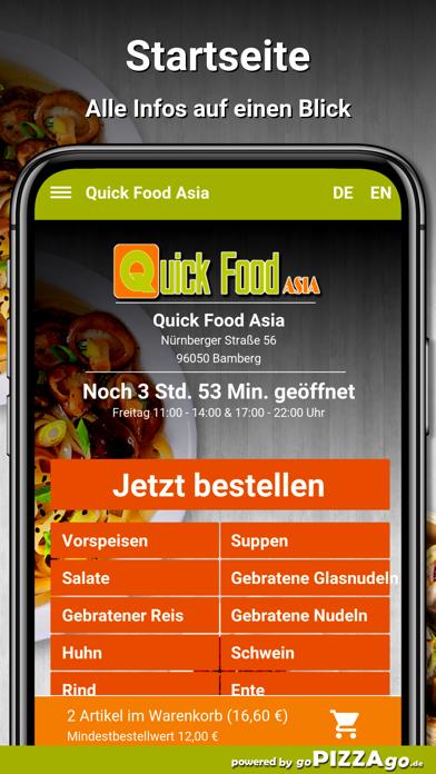 Quick Food Asia Bamberg screenshot 2