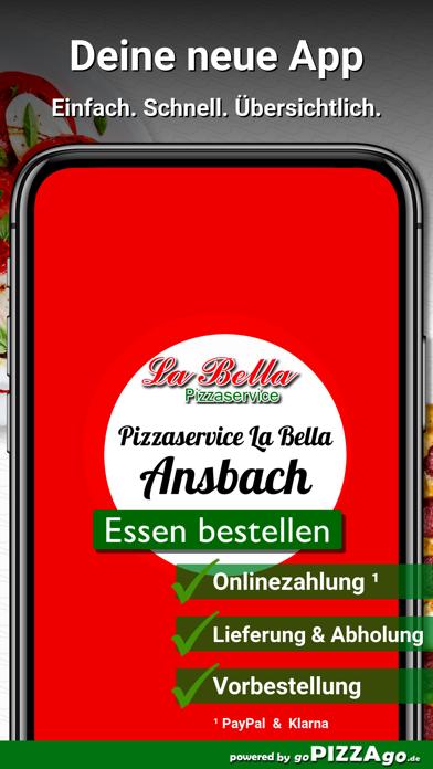 Pizzaservice La Bella Ansbach screenshot 1