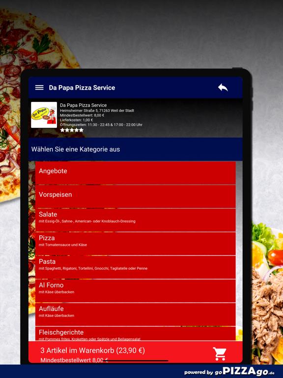 Da Papa Pizza Weil der Stadt screenshot 8
