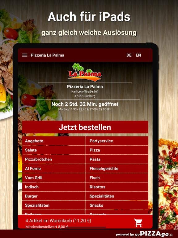 Pizzeria La Palma Duisburg screenshot 7