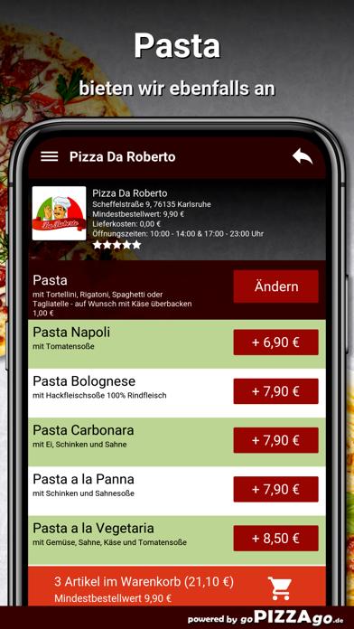 Pizza Da Roberto Karlsruhe screenshot 6