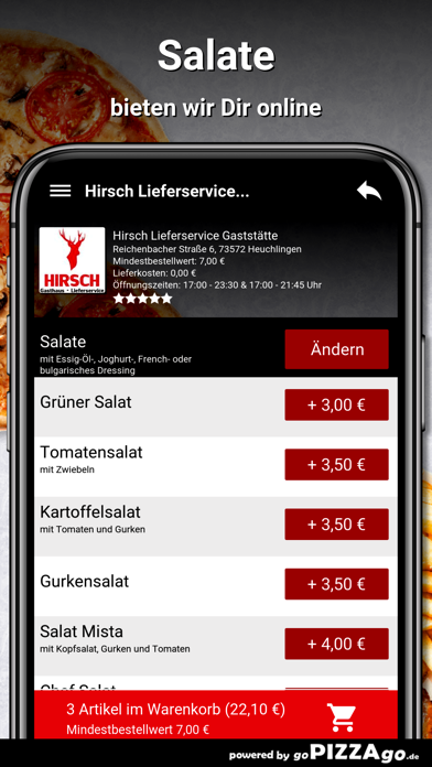 Hirsch Heuchlingen screenshot 5