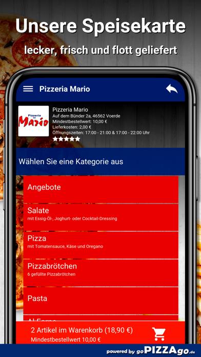 Pizzeria Mario Voerde screenshot 4