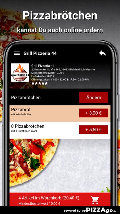 Grill Pizzeria 44 Bielefeld screenshot 5