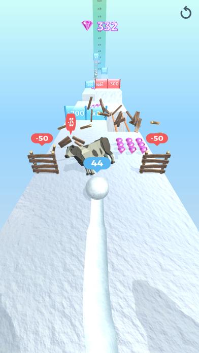 Snowball Effect 3D screenshot 10
