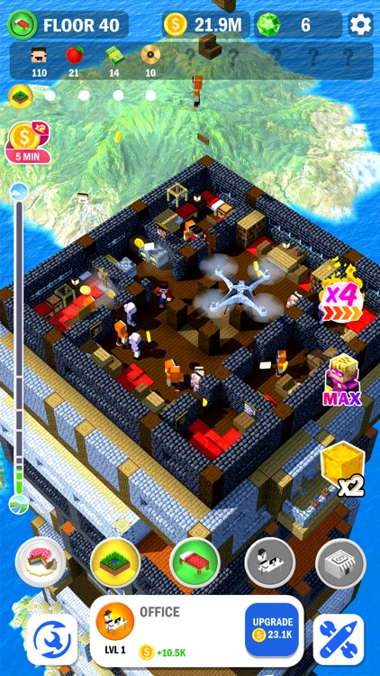 Tower Craft 3D - Idle Building screenshot-6