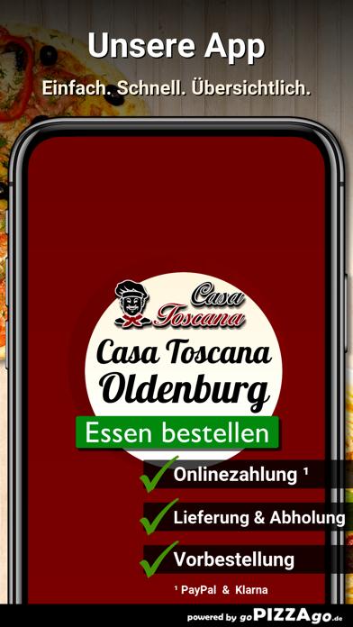 Casa Toscana Oldenburg screenshot 1