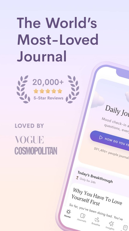 Jour: Daily Self-Care Journal