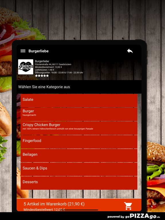 Burgerliebe Saarbrücken screenshot 8
